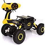 Asian Hobby Crafts ABS Plastic Rock Crawler Remote Control Monster Car, (Black Yellow Assorted)