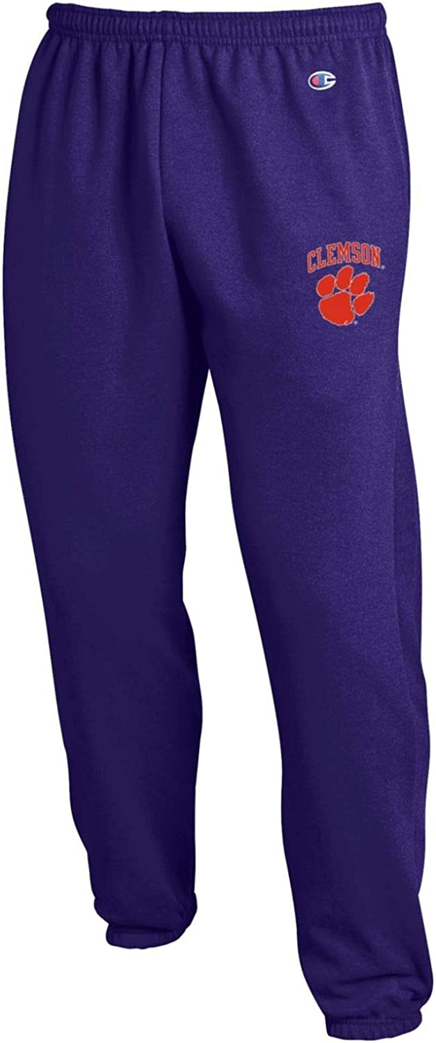 Champion NCAA Mens Eco Powerblend Banded Pant