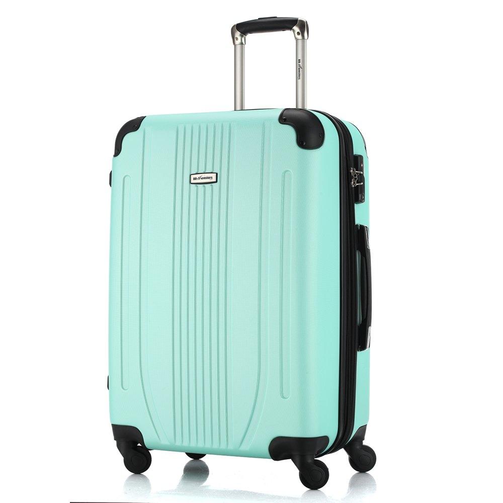 [BB-Monsters ビービーモンスターズ] スーツケース 軽量 ファスナータイプ 4サイズ キャリーケース Flower Fairy (大型、L、28, アップルグリーン) B017ECITEU 大型、L、28|アップルグリーン アップルグリーン 大型、L、28
