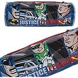 DC 5585010pvc Justice League Batman/Superman/Flash/vert Lanterne Trousse ronde