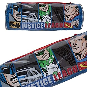 e9632a5242 DC 5585010PVC Justice League Batman/Superman/Green Lantern/Flash Pencil Case
