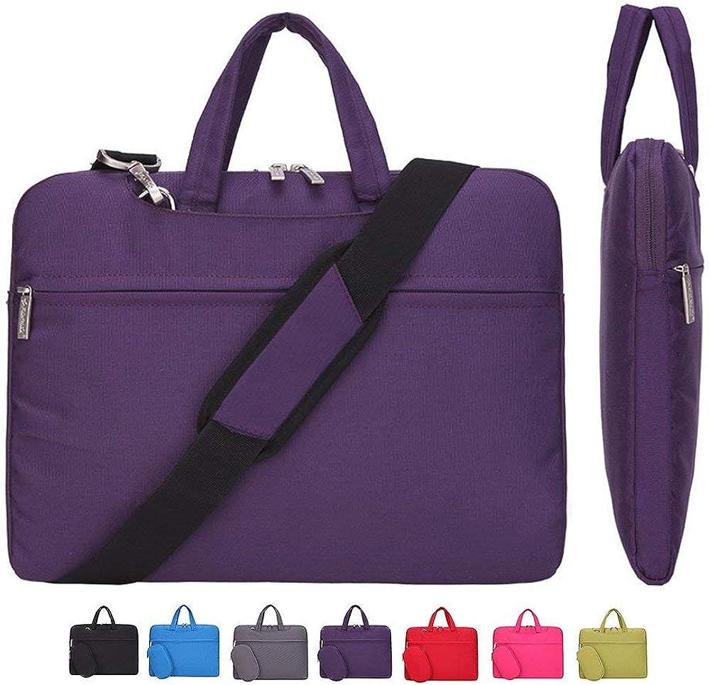 KUSDET Laptop Case Sleeve 11.6 13 14 15.6 Inch with Shoulder Strap Computer Bag