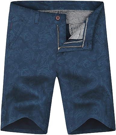 LANSKIRT_Pantalones Cortos Hombre Deporte Bolsillo Hombres Moda ...
