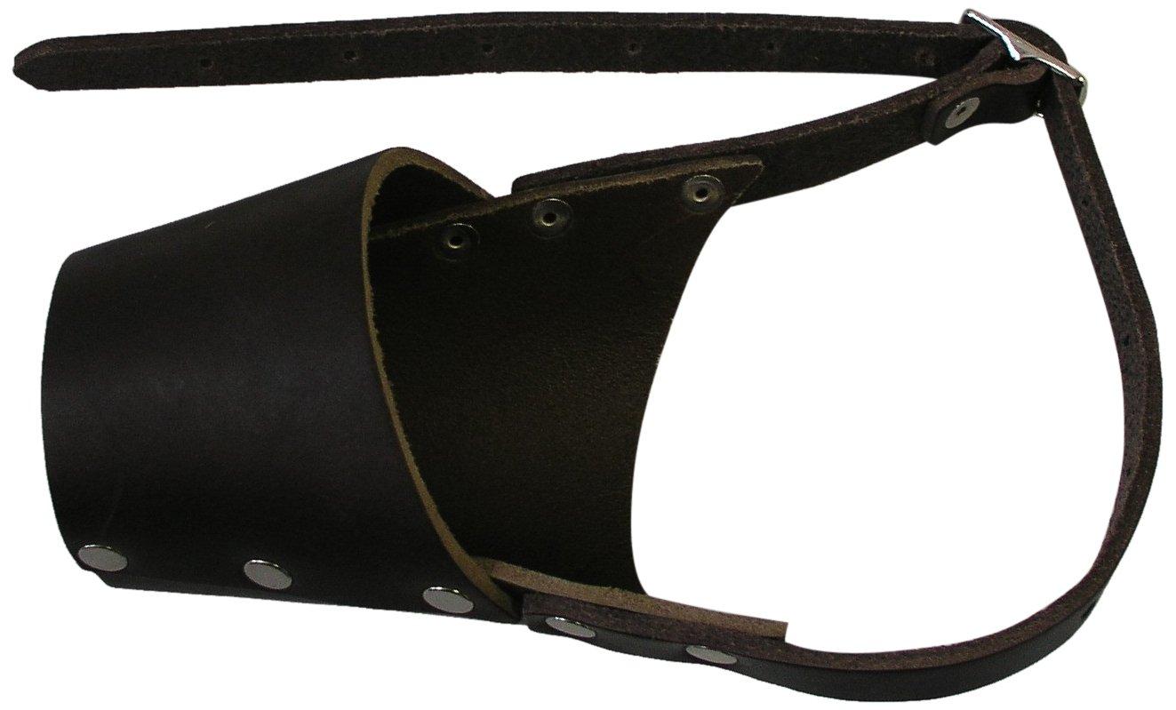 Leather Muzzle Full Set 6 Size by JorVet