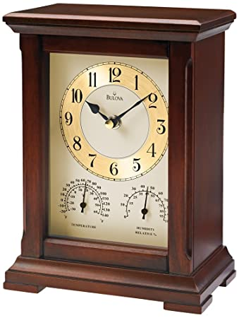 Bulova Sherwood Table Top Clock   B1672