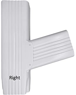 Y Downspout Funnel for Rectangular Downspouts (2x3, Low