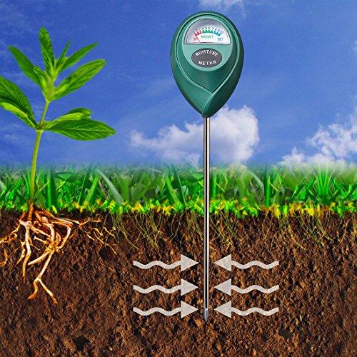 re Sensor Meter - Soil Water Monitor, Hydrometer for Gardening, Farming, No Batteries Required (Indoor Plant Moisture Sensor)