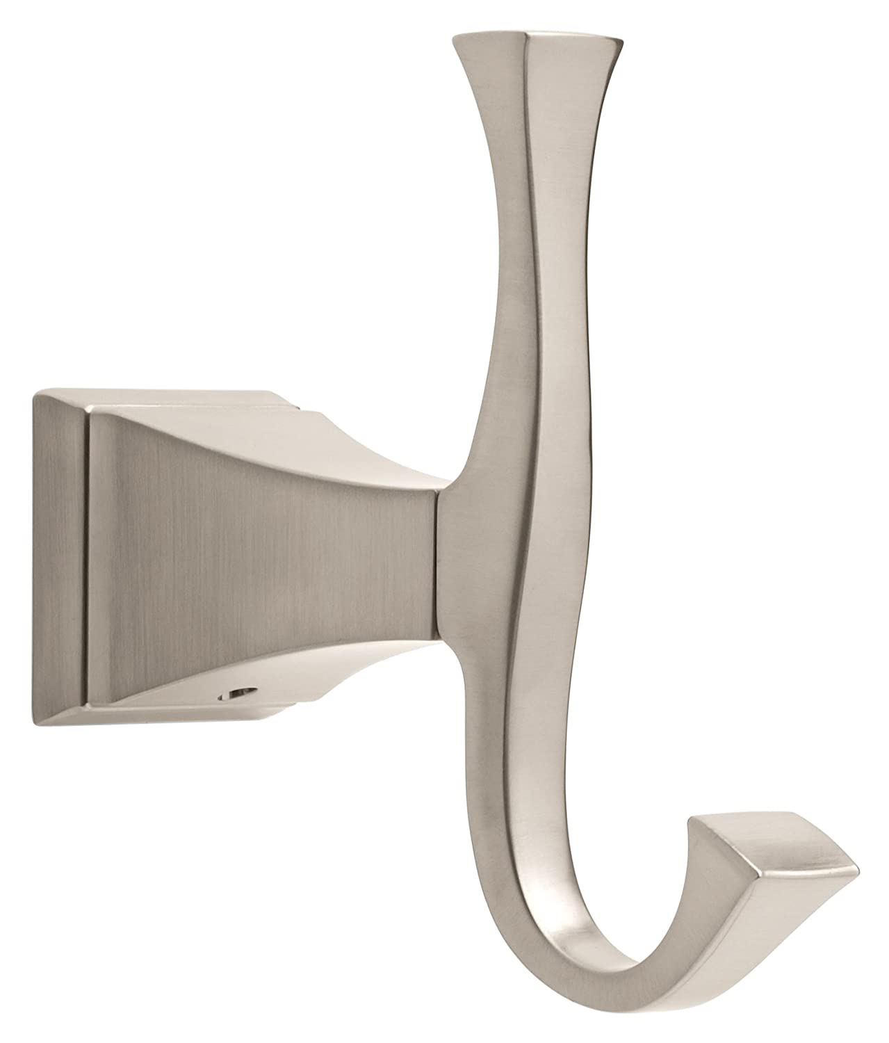 Delta Faucet 128890 Dryden Double Robe Hook, Brilliance Stainless Steel