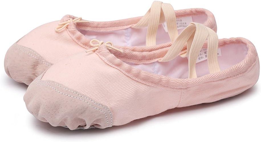 Amazon.com: gsoter Soho zapatos de Ballet para Niñas y mujer ...