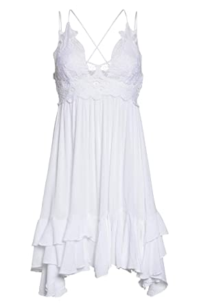 19084a298e63 Free People Adella LACE Slip Dress at Amazon Women's Clothing store:
