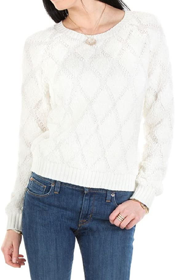 Willow & Clay Women's Contemporary Diamond Patterned Woven