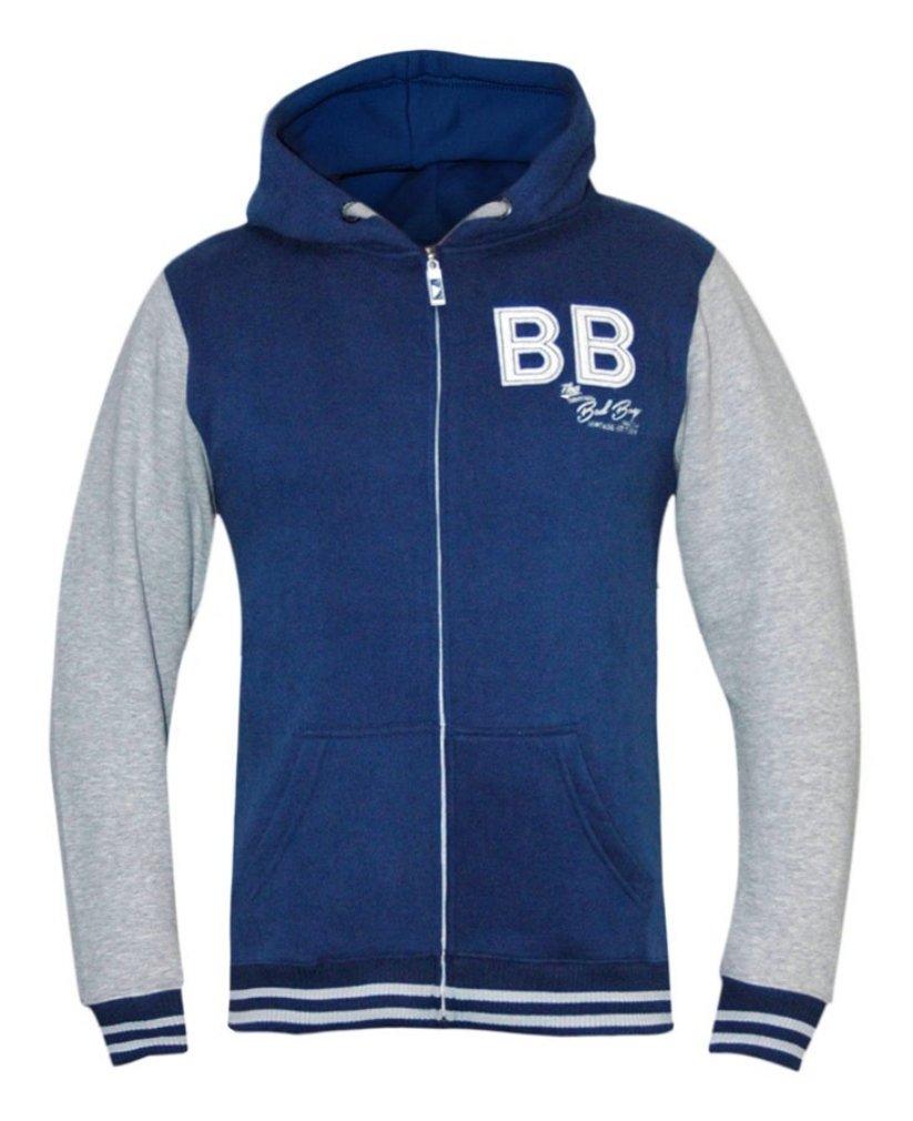 Bad Boy Varsity Hoodie – ブルー/ホワイト  3L