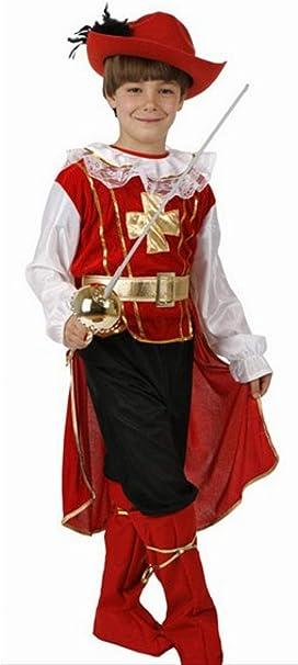 Desconocido Disfraz de mosquetero para niño: Amazon.es: Juguetes y ...