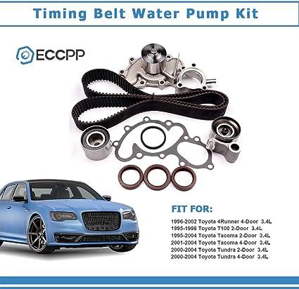 OCPTY Timing Belt Tensioner Bearing Water Pump with Gasket ...