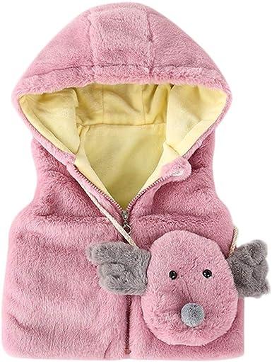 Anxinke Kids Boys Autumn Winter Fleece Soft Casual Outerwear