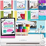 Silhouette Cameo 3 Mega Bundle with 7 Starter Kits, Ultimate Silhouette Guide Book, 24pc Sketch Pens, Fabric Blade, Pixscan, and More