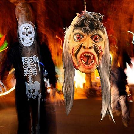 Skeleton Torso Half Hanging Bones Halloween Fancy Dress Party Decoration