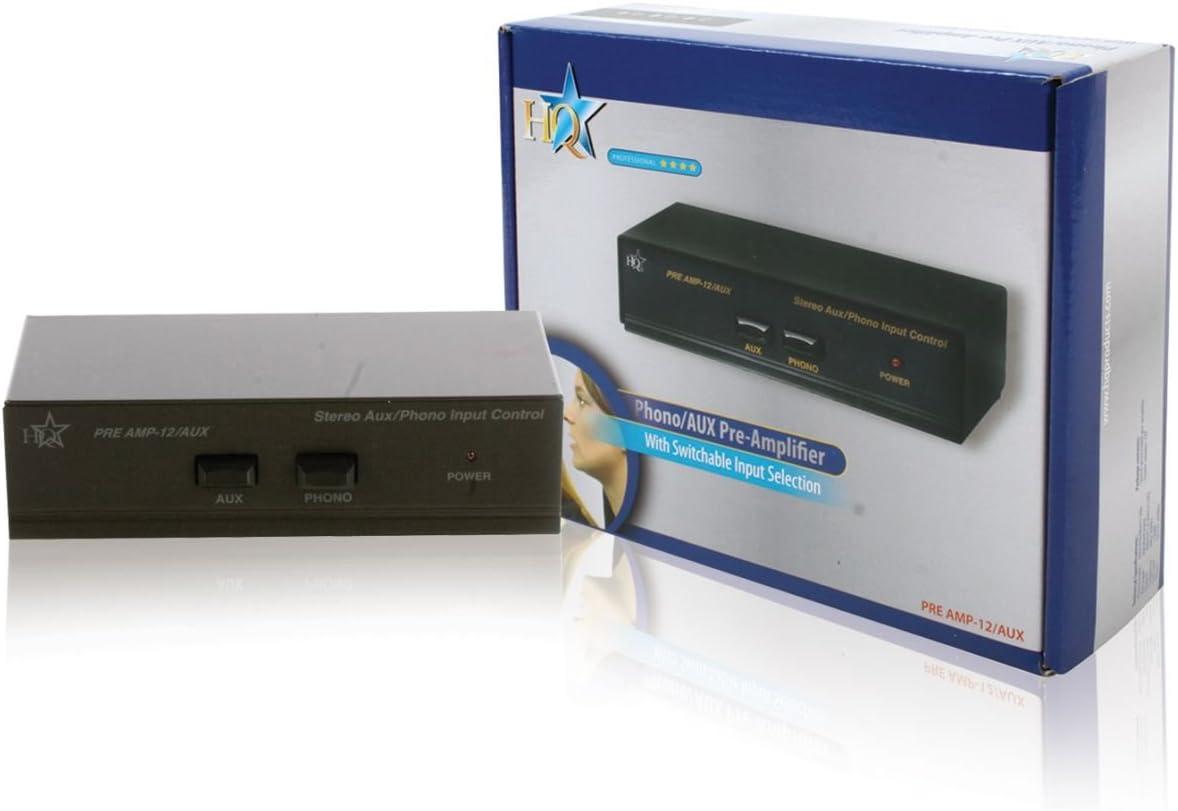 HQ PRE-Amplificador EST»REO con ENT: Amazon.es: Informática