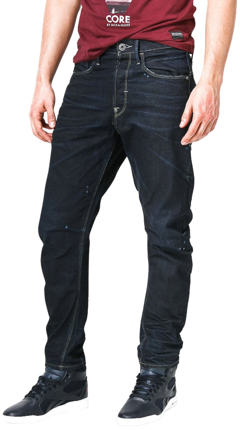 G-Star Raw type C 3D loose tapered mens jeans 50584 pants (waist 34 leg 30, Blue (dk aged 89))