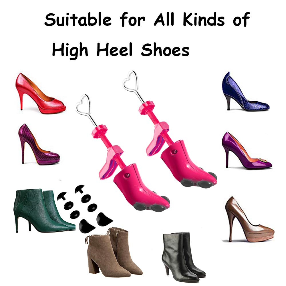 443a3a087f Amazon.com  Black Friday Deals Cyber Monday Deals Week-High Heel Shoe  Stretcher Professional 2-Way Adjustable Shoe Trees for Women s Size 4.5-9.5  (Heart ...