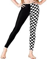 Girls Checkered Leggings,N8837C