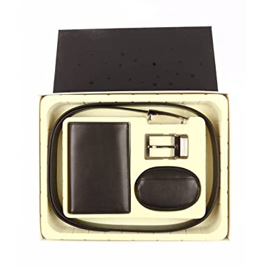 Chabrand - Coffret ceinture, portefeuille et porte-monnaie cuir  ref chabrand40201-noir a263ec1e0c1
