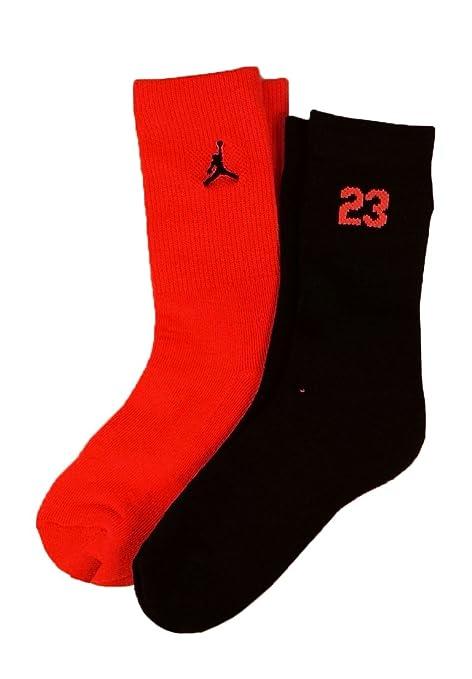 Nike Jordan Kids 2 unidades Alta Crew - Calcetines de corte 5y-7y ...