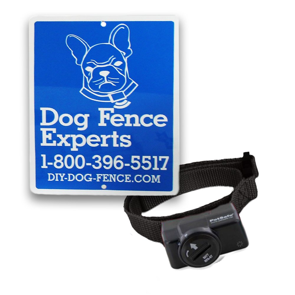 PetSafe Deluxe Ultralight Receiver Collar for Dogs and Cats over 8 lb, Waterproof with Tone and Static Correction