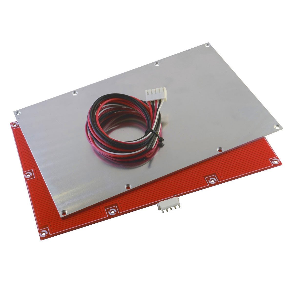 Reprap Champion Flashforge Monoprice 3d Printer 24v Wiring Diagram Heated Bed Kit T15x23 Alu Plate Cable Industrial Scientific