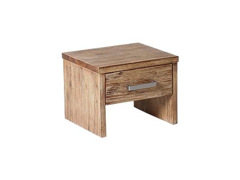 Woodkings® Nachttisch Albury Akazie gebürstet Schlafzimmer ...