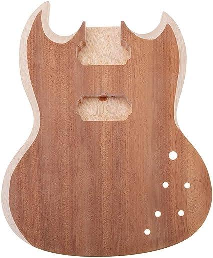 Piezas para guitarra de cuerpo de madera de borla para guitarra SG ...