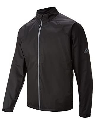 62a293184 adidas Men's Climastorm Provisional II Long Sleeve Rain Jackets, Black,  X-Small