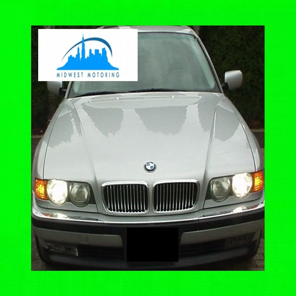 1995 2001 Bmw E38 7 Series Chrome Trim For Grill Grille Auto Repair 735i 1986 Electrical 1996 1997 1998 1999 2000 95 96 97 98 99 00 01 740i 740il 750il 740 750 I Il Automotive
