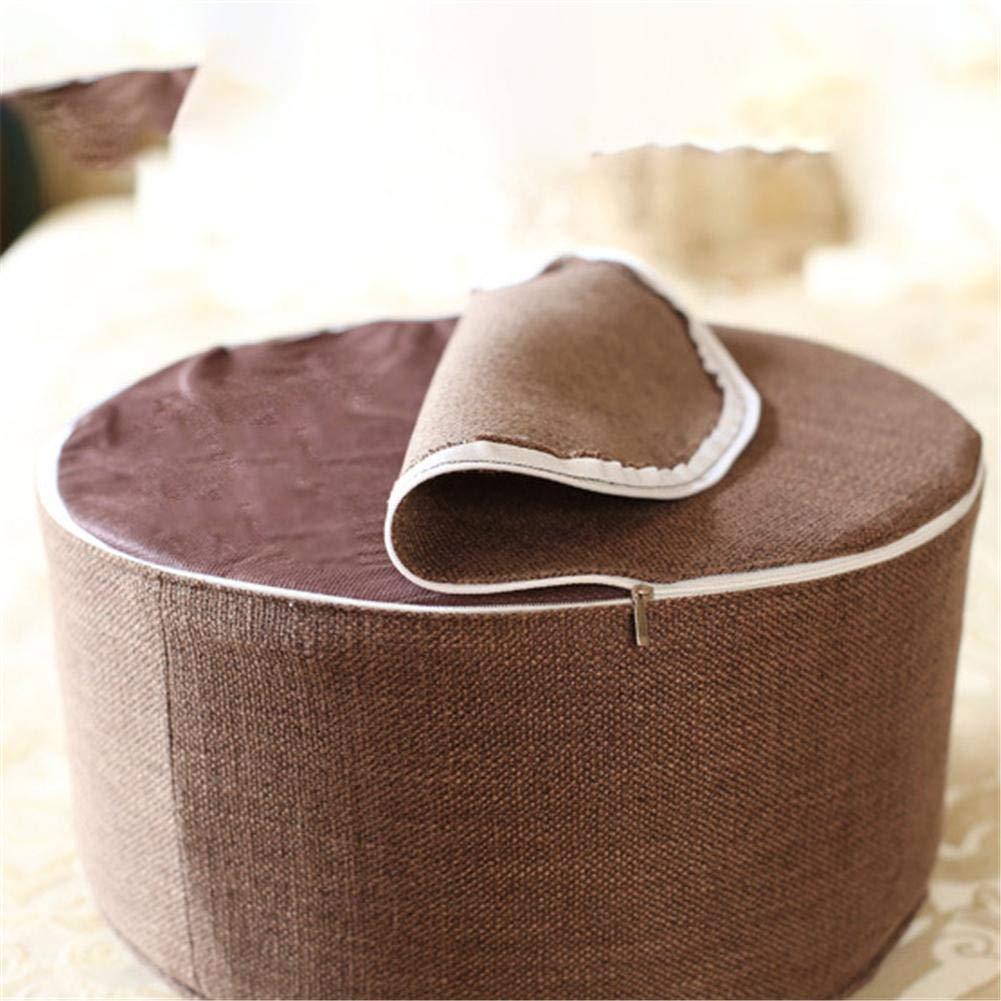 Housse en Coton Lavable Hauteur dassise 20 cm Disponible en diff/érentes Couleurs Urben Life Coussin de m/éditation Rond//Coussin de Yoga