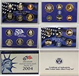 2004 S Proof set Collection Uncirculated US Mint