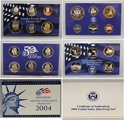 2004 S US Mint Proof Set OGP