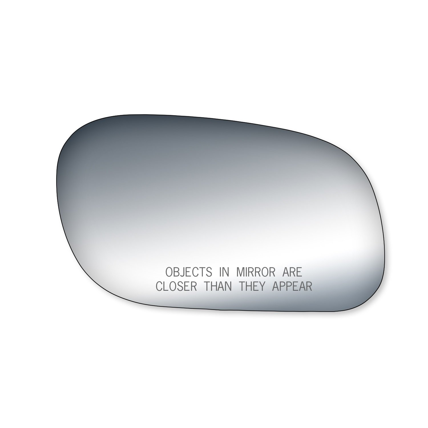 Fit System 90048 Ford//Mercury Passenger Side Replacement Mirror Glass
