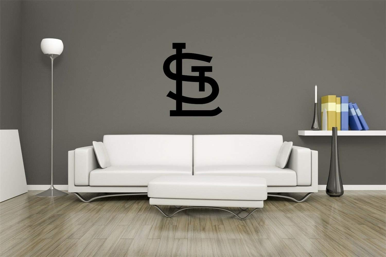 Turnya MLB Logo Saint Louis Cardinals Baseball Team Sign Wall Decor Vinyl Sticker Decal Wall Art