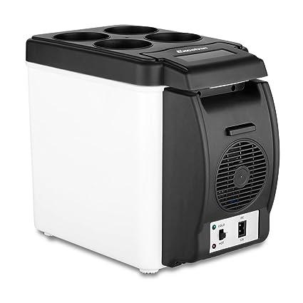 Amazon.es: Excelvan BT16 - 6L Nevera Portatil Mini Refrigerador ...