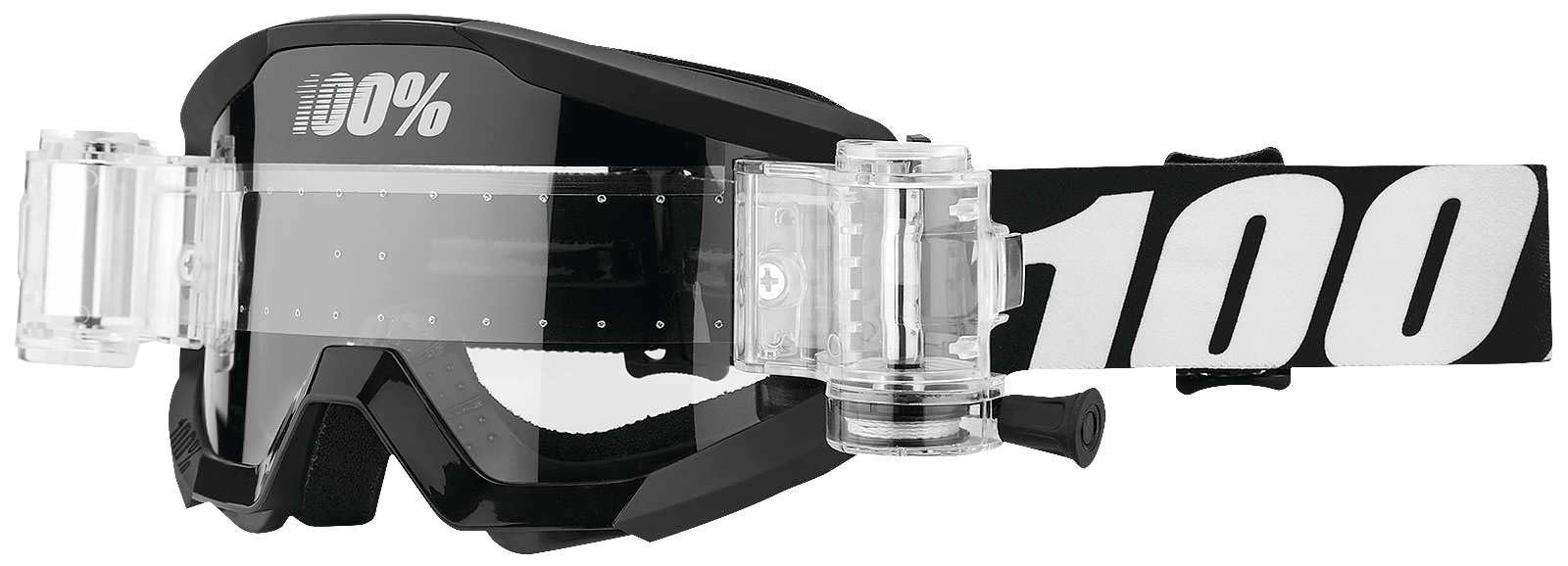 100% Strata SVS Roll-Off Goggles (OUTLAW)