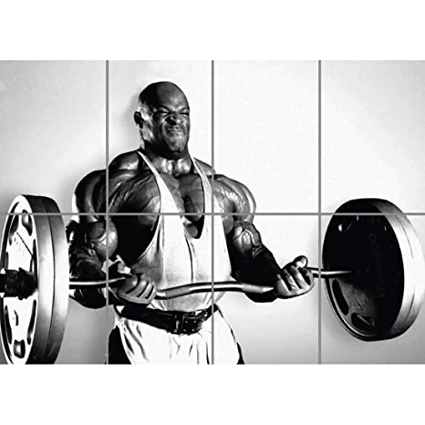 Doppelganger33 LTD Bodybuilding Ronnie Coleman Giant Art Print Poster B1132