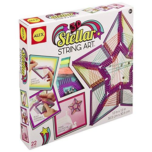 ALEX Toys Craft 3D Stellar String Art