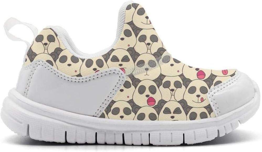ONEYUAN Children Cute Panda Bear Head Kid Casual Lightweight Sport Shoes Sneakers Running Shoes