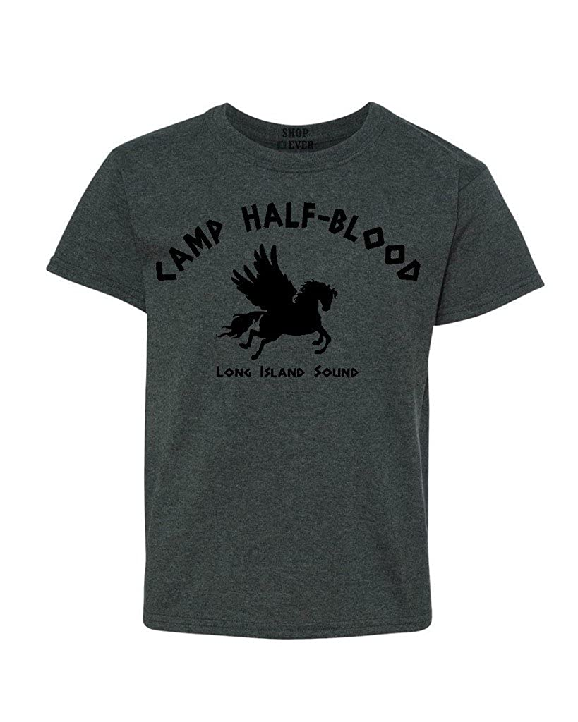 Shop4Ever Camp Half Blood Demigods Youth's T-Shirt Long Island Sound Shirts IDcmphlfbloodlis H5000B
