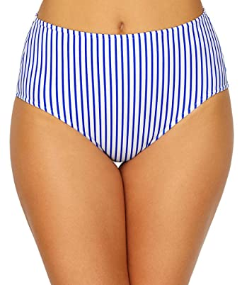f1c1428f279e8 Amazon.com  Freya Totally Stripe High-Waist Bikini Bottom  Clothing