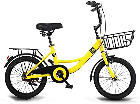 YUMEIGE Bicicletas Infantiles Bicicletas para niños, Bicicleta para niños 16/18/20 Pulgadas, Ciclismo para niños y niñas, Adecuado para niños de 6 a 16 años de Edad, Azul, Verde y Rosa Disponible: Amazon.es: