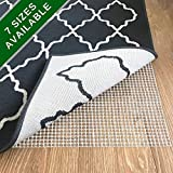 casa pura Non Slip Rug Pad 8x10 - Premium Rug Gripper for Hardwood Floors and Carpet | Many Sizes to Choose from | Super Easy to Customize Size