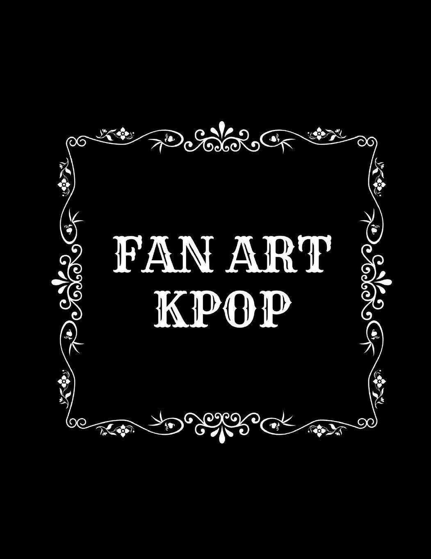 Sketchbook for fan art kpop  Design your art  Blank pages BTS ...