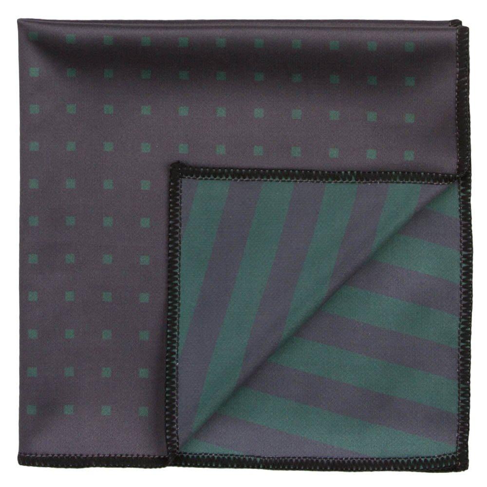 Declan 12.2 Inch Microfiber Pocket Square, Handkerchief, Cleaning Cloth (Everett) by Declan