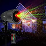 1byone Aluminum Alloy Outdoor Laser Christmas